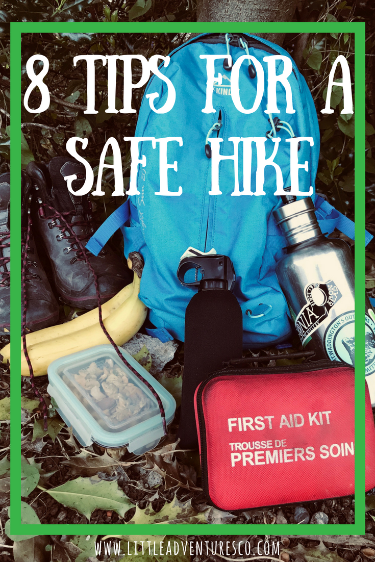 8 tips for a safe hike! #outdoorlifestyle #hikingsafety