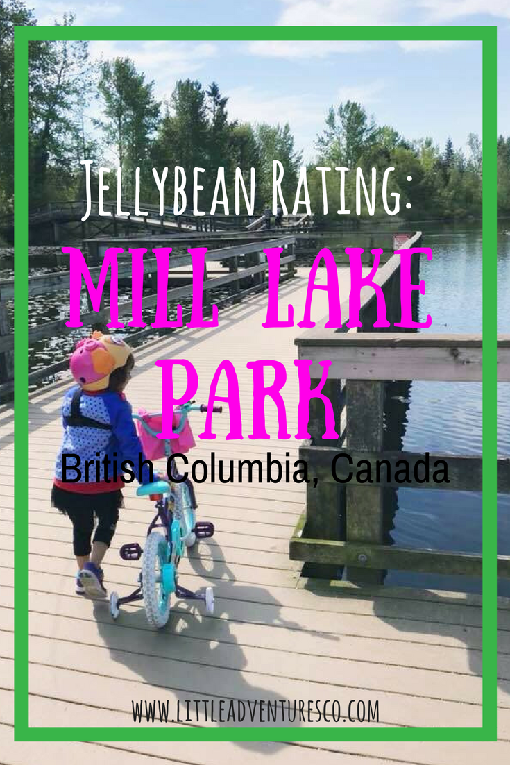 Jellybean Rating: Mill Lake Park, British Columbia! #hiking #kidsoutdoors #naturekids