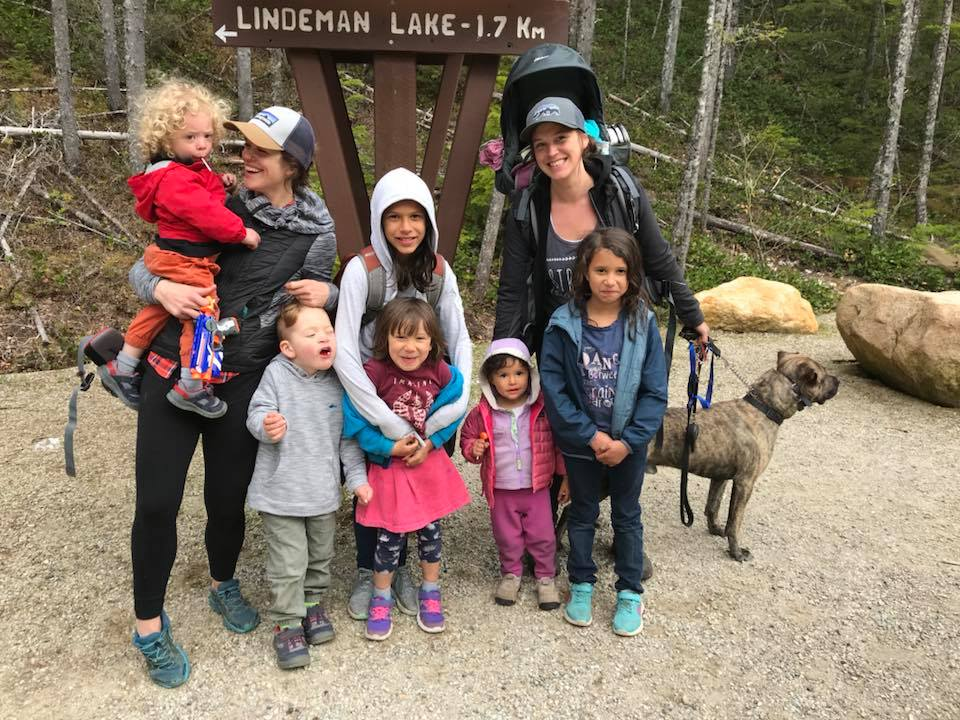finished at lindeman lake