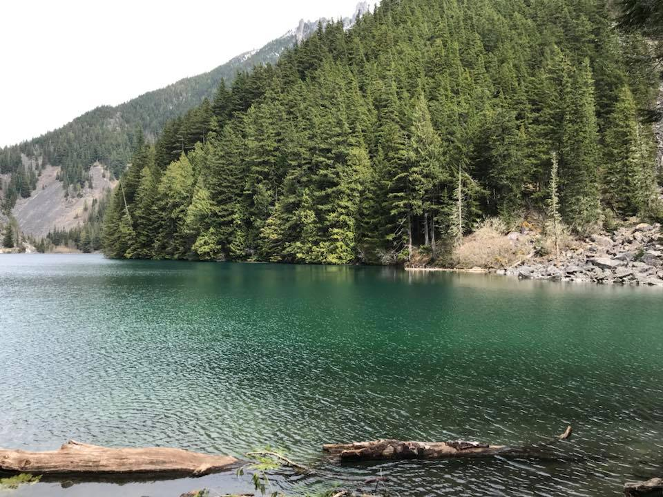 view of lindeman lake