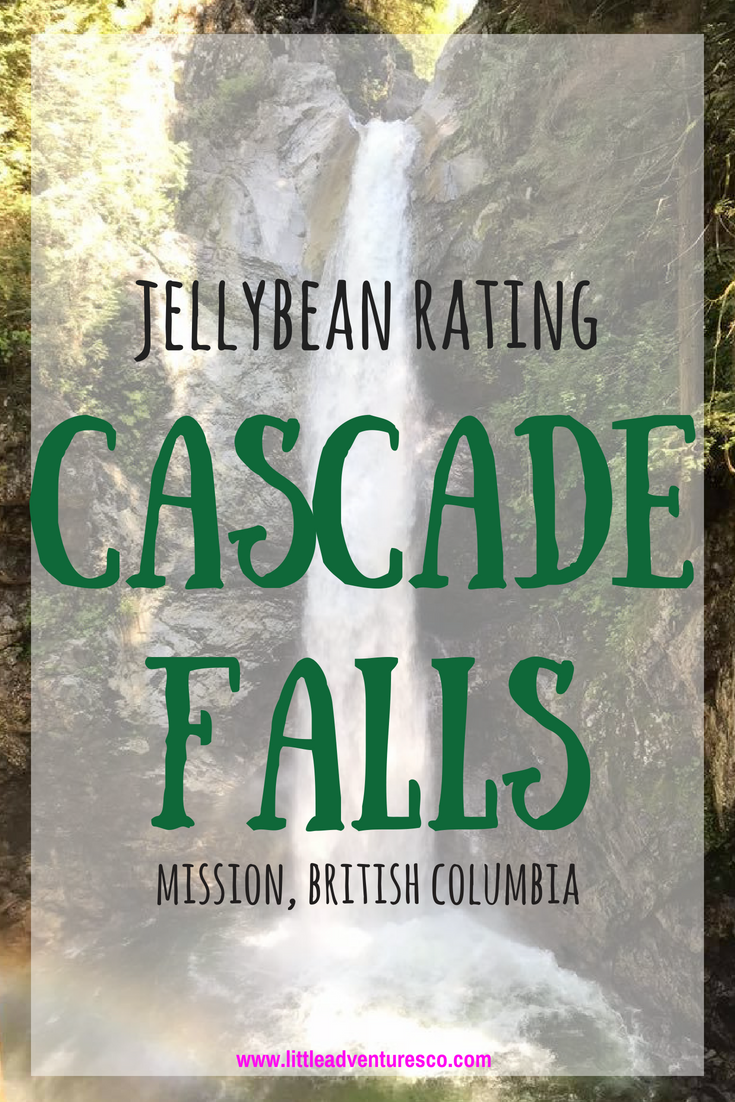 Jellybean Rating: Cascade Falls, Mission, British Columbia! #kidsoutdoors #hiking #naturekids #localspots