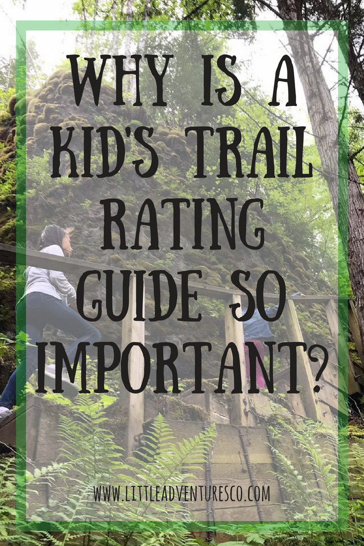 Why is a kid's trail rating guide so important?