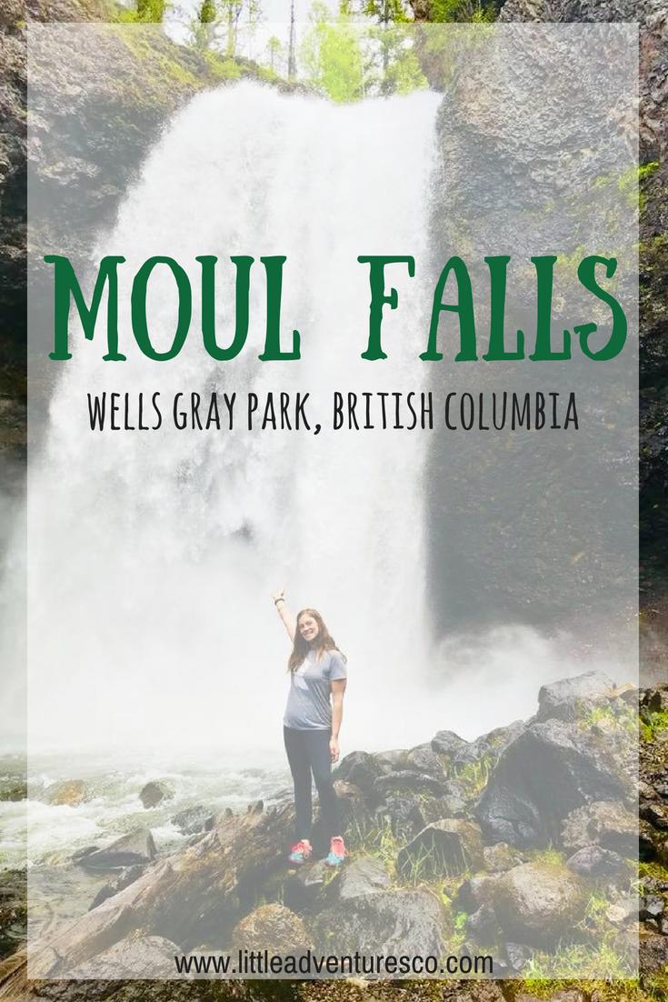 moul falls wells gray park
