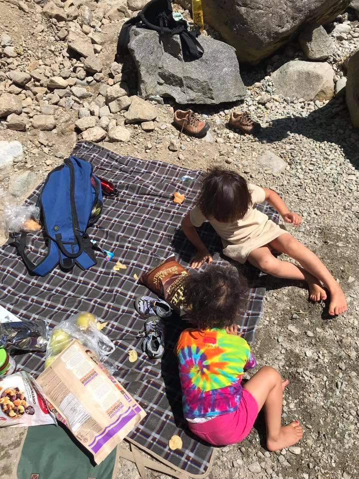 cascade falls picnic