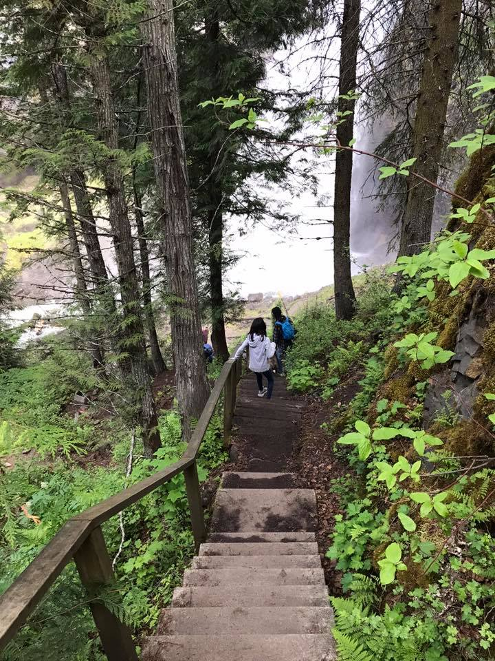 stairs to moul falls