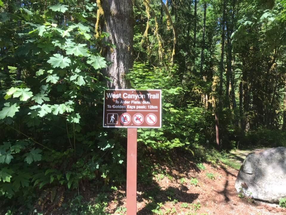 Viewpoint trailhead sign
