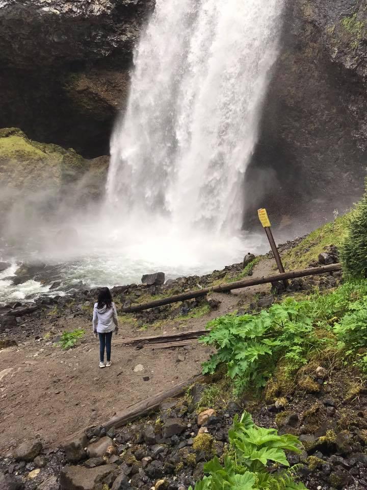 bottom of moul falls