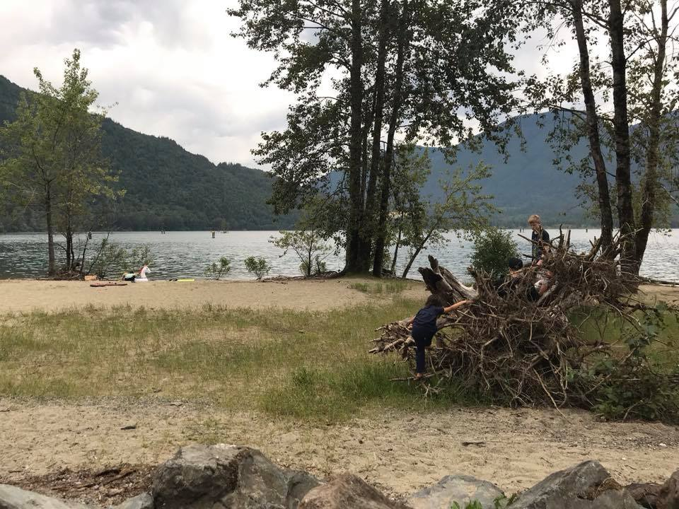 Kilby campground on Harrison river