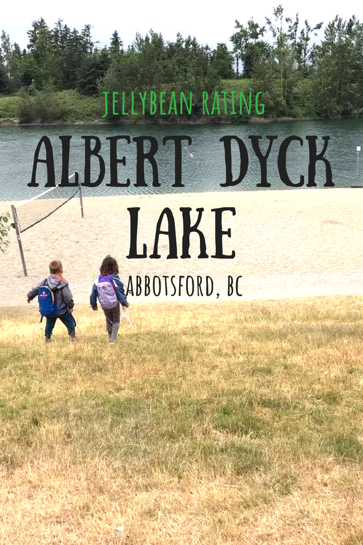 Albert Dyck Lake in Abbotsford, B.C. is a great place to take the kids to splash around and watch some cool water sports!