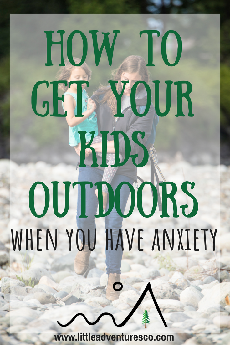 If you struggle with anxiety it can be hard to get out and do day to day things, let alone getting you and your kids outdoors.