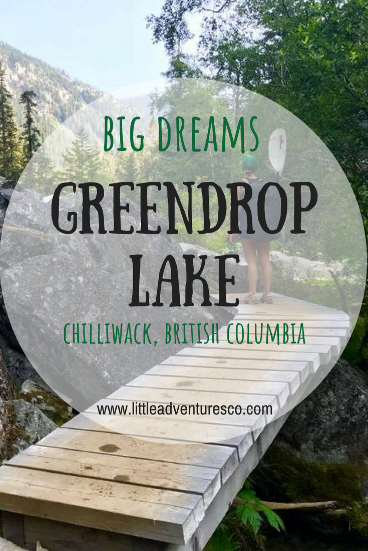 If you've got some extra time to go past Lindeman Lake in Chilliwack, British Columbia you'll love the hike up to Greendrop Lake!
