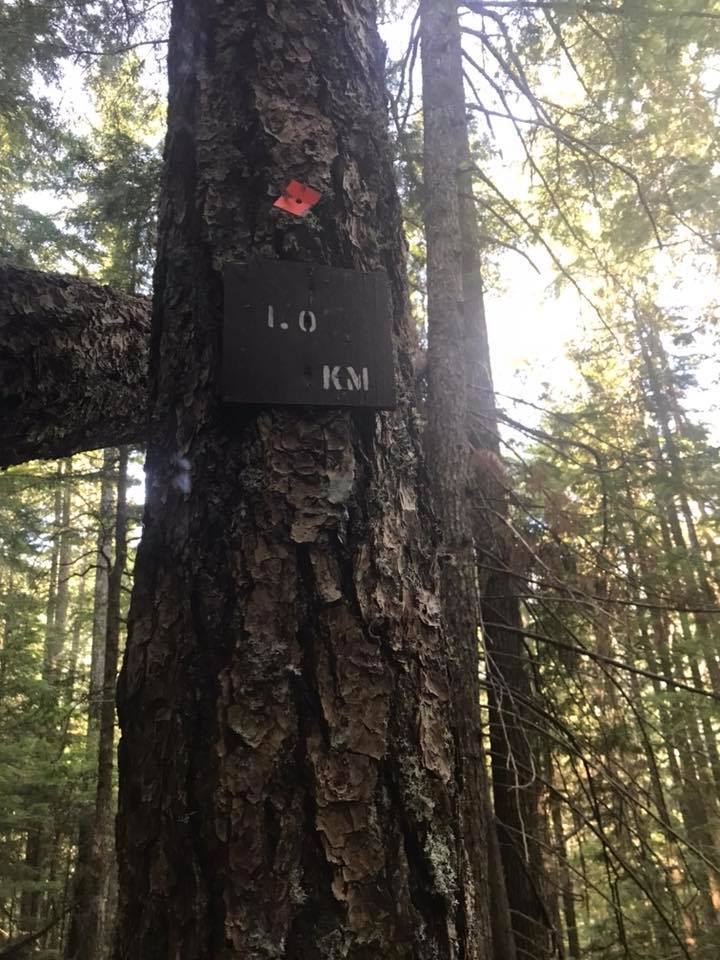 eaton lake trail markers