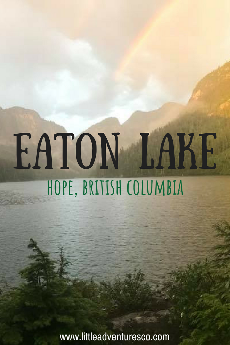 If you're looking to do a GRIND that will offer a huge reward at the end then Eaton Lake in Hope, British Columbia is a spot you should most definitely check out!