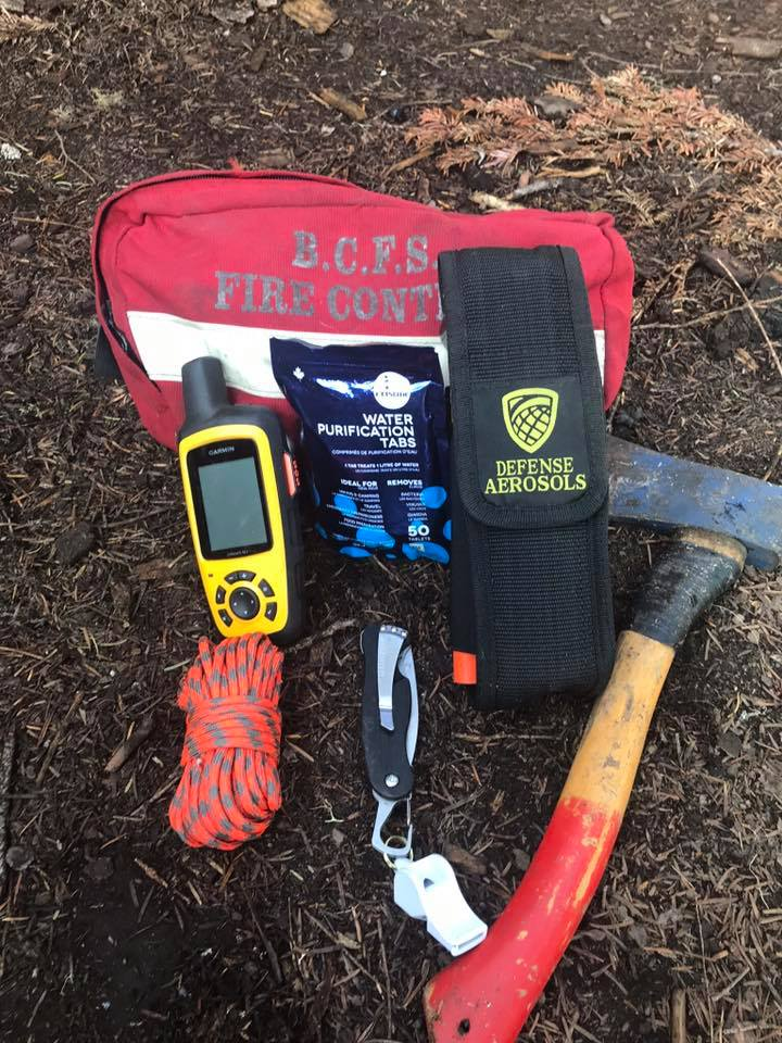 overnight hike safety gear