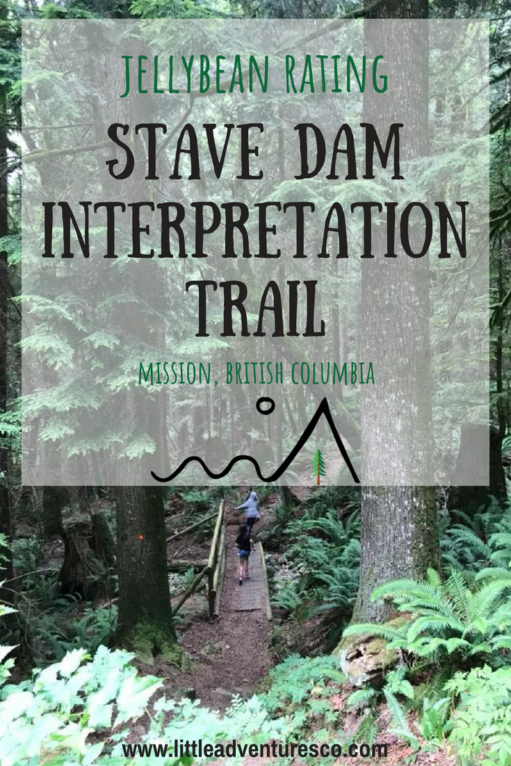 If you're looking for a hike that's reasonably short, a decent climb, and a great view from the top the Stave Dam Interpretation Trail in Mission, BC is it!