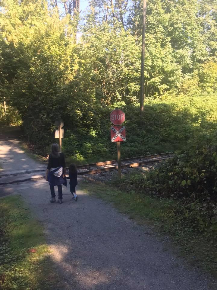 douglas taylor park train tracks