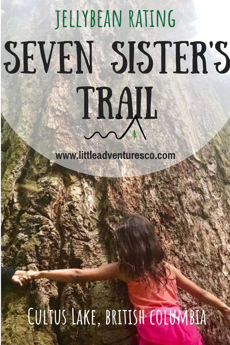 Seven Sisters Trail is located in Cultus Lake BC. Entrance Bay Campground #hike #cultuslake #fraservalley #hikingwithkids
