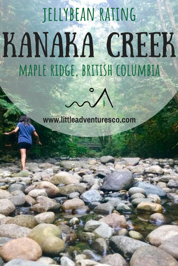 Kanaka Creek in Maple Ridge, British Columbia boasts a beautiful creek, picnic benches, a fish hatchery, and a kid-friendly trail!