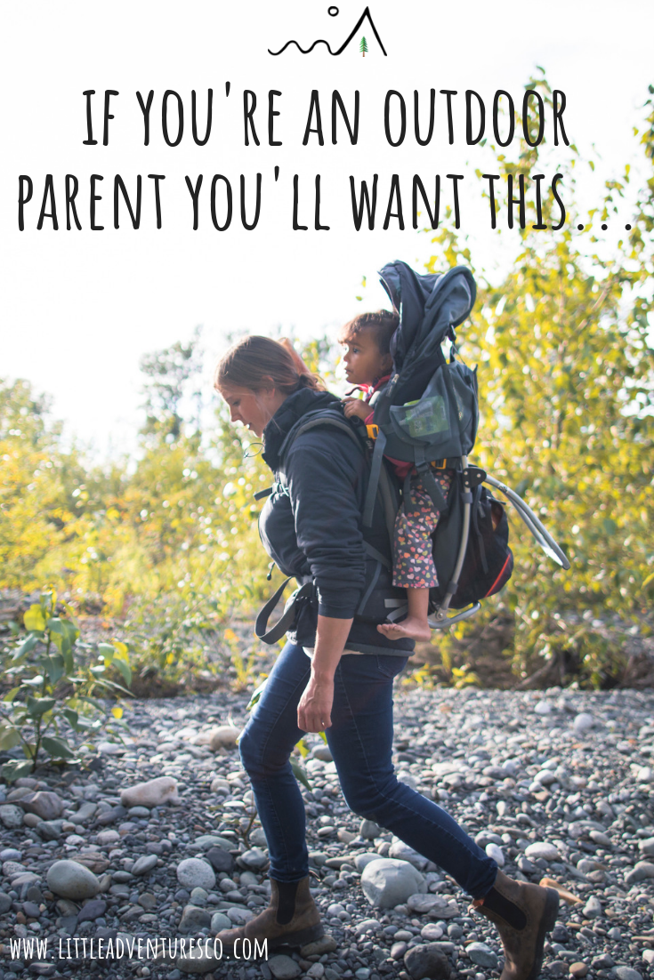 If you're a parent that takes your kids outdoors a lot you're going to want, or maybe even NEED this one piece of equipment!