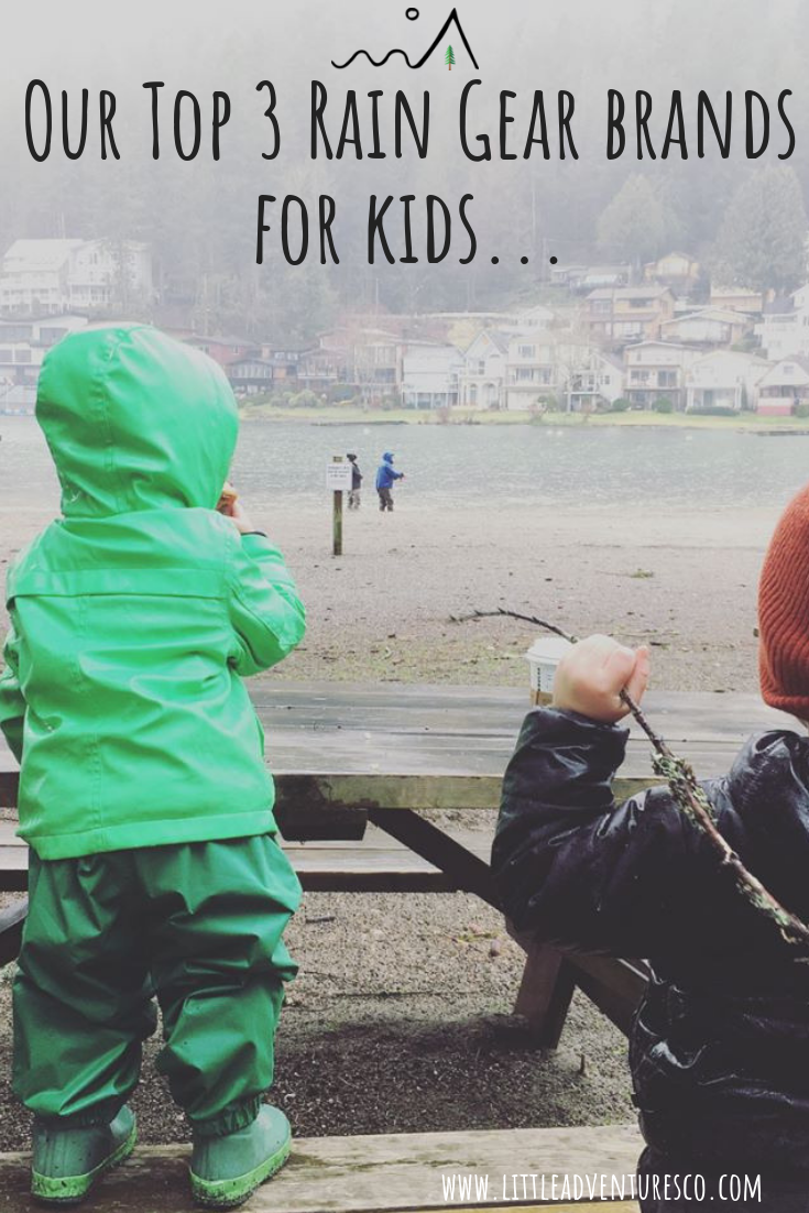 As a parent in the Fraser Valley of British Columbia you'll NEED to know the best rain gear to get for your kiddos to keep them warm and dry!