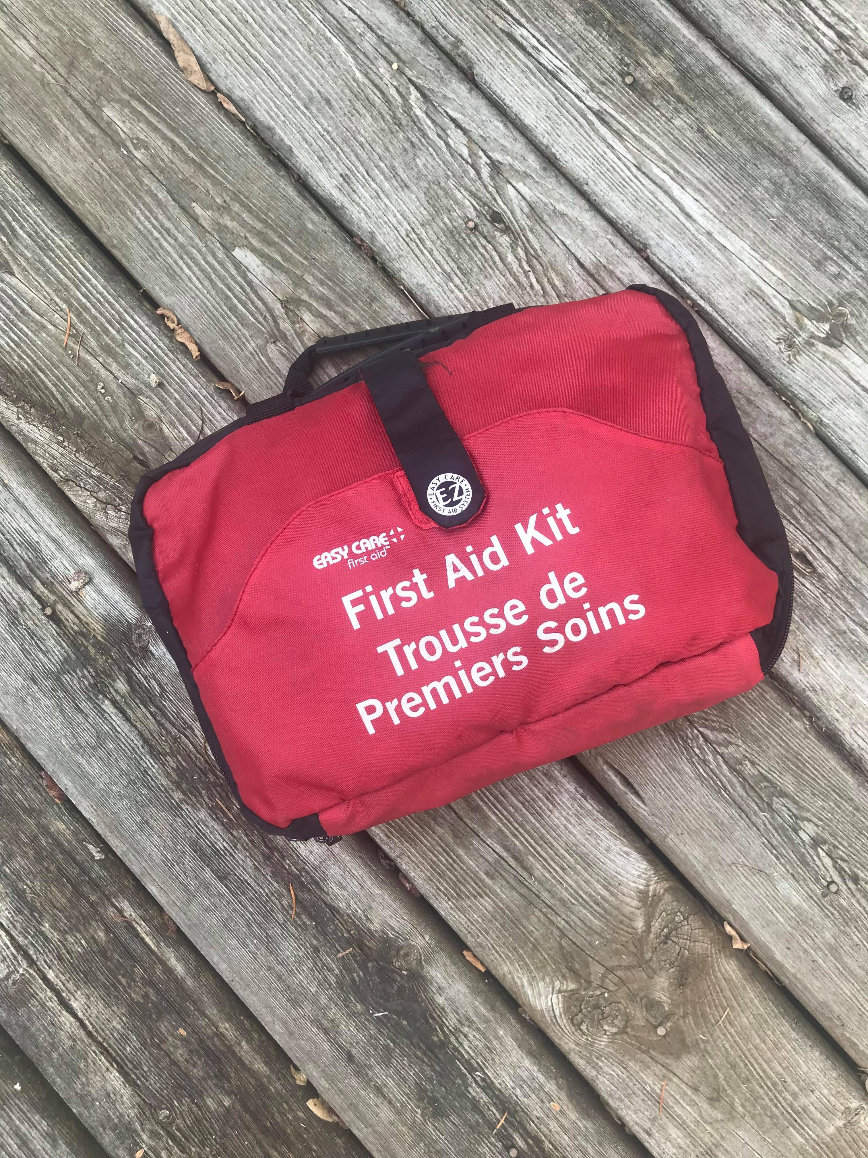 bring a first aid kit on your day trip