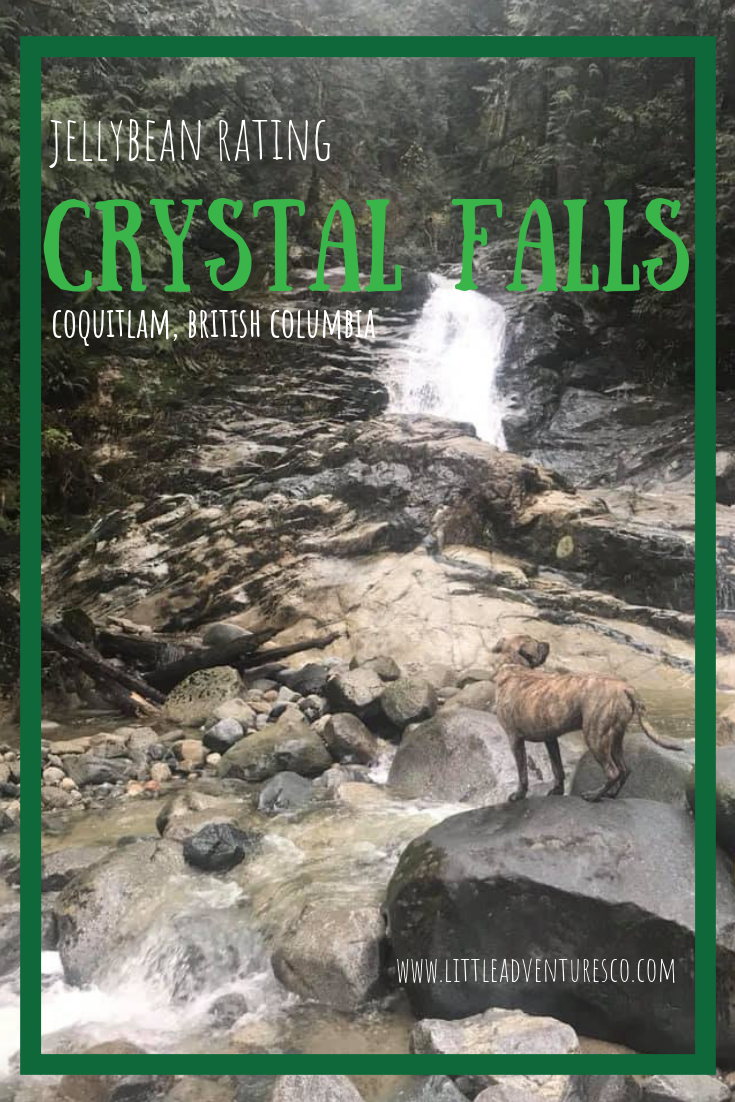 What appears to be a dead end road in the heart of Coquitlam, British Columbia is actually the beginning of a beautiful trail to Crystal Falls!