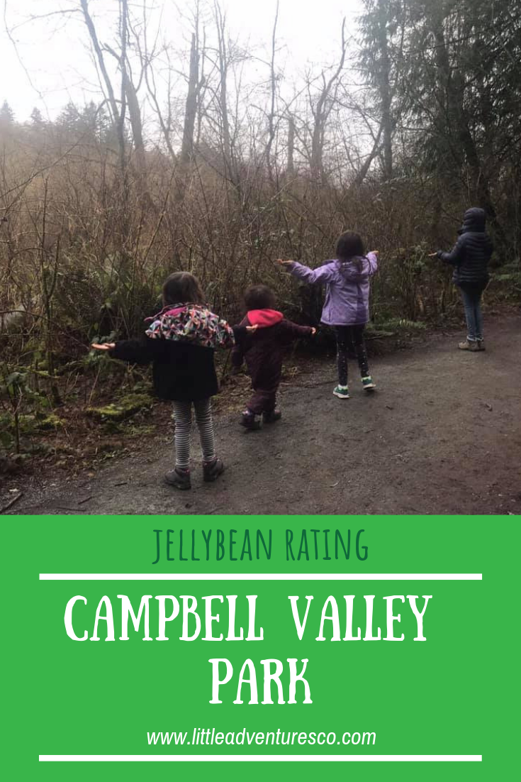 Campbell Valley Park in Langley, B.C. has beautiful trails, a fun boardwalk, and is a perfect spot for meandering and exploring with your kids!