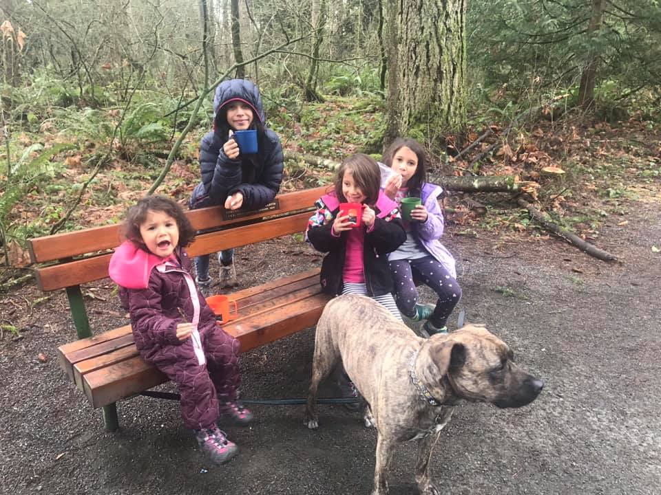 hot chocolate at campbell valley park