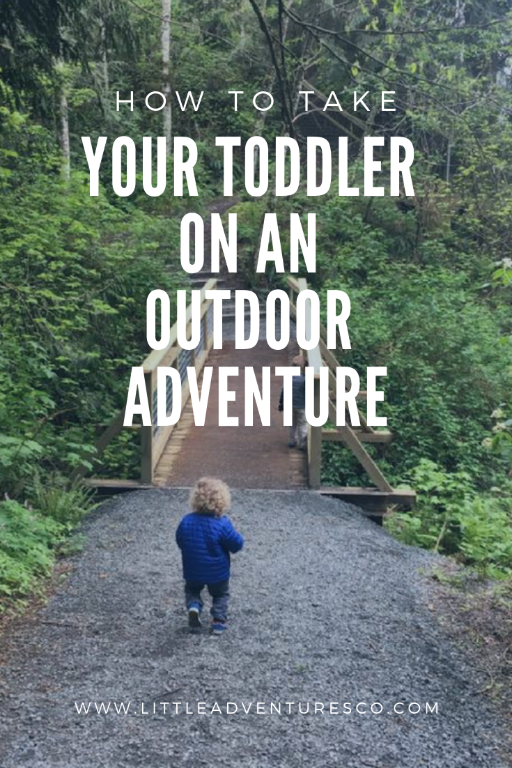 Do you want to take your toddler outside but don't know the best way to do it? Here are a few tips and tricks!