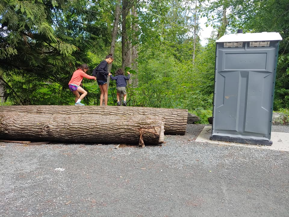 Chilliwack community forest bathroom