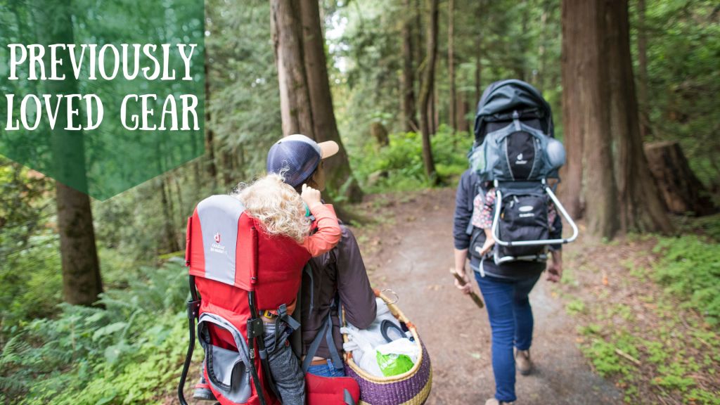 previously loved outdoor gear for kids